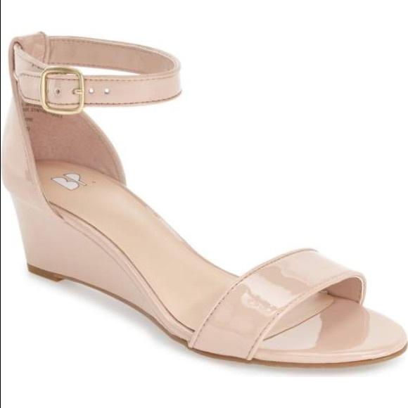55e90f8041e2 bp Shoes - BP Roxie wedge sandal in blush